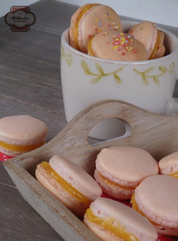 Macarons con lemon curd 2