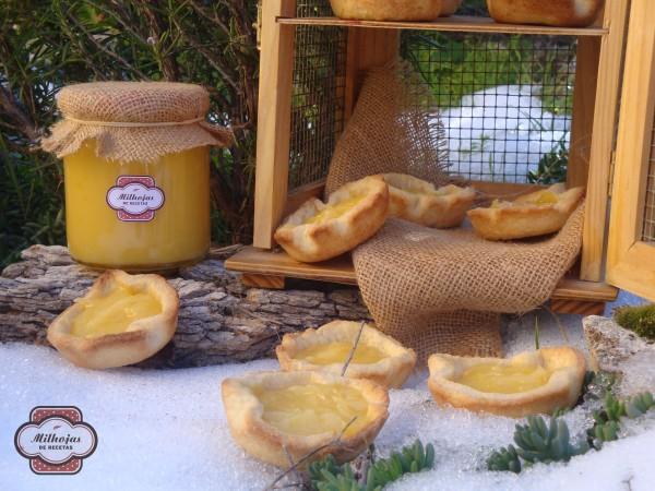 Tartaletas rellenas de lemon curd 1