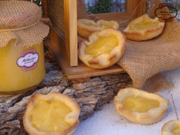 Tartaletas rellenas de lemon curd 2