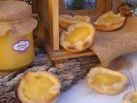 Tartaletas con lemon curd