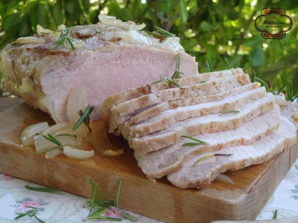 Lomo de cerdo al vino blanco 2