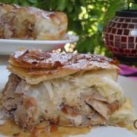 Pastela de pollo al estilo marroquí