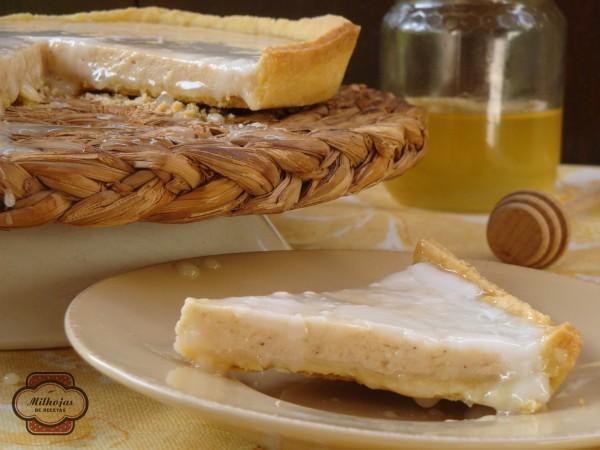 Tarta de queso y limón griega 3